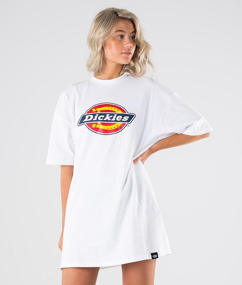 Dickies Varnell - Tshirt Dress Kleid White