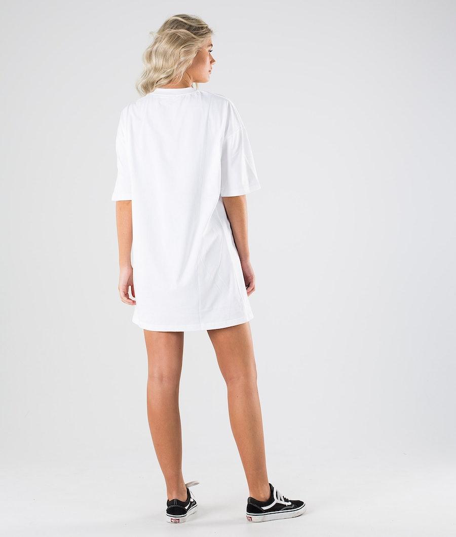 Dickies Varnell - Tshirt Dress Kleid Damen White