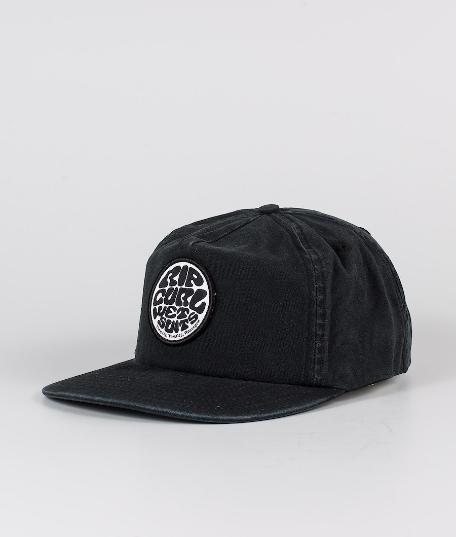 Rip Curl Washed Wetty Sb Cap Keps Washed Black
