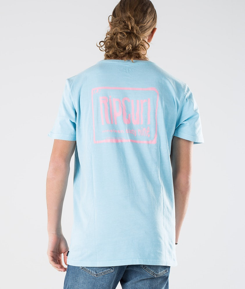 Rip Curl Native Glitch Tee T-shirt Blue River