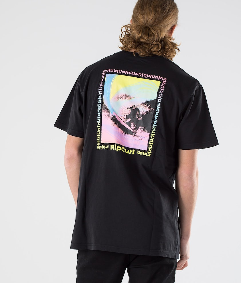 Rip Curl Og Glitch Tee T-shirt Black