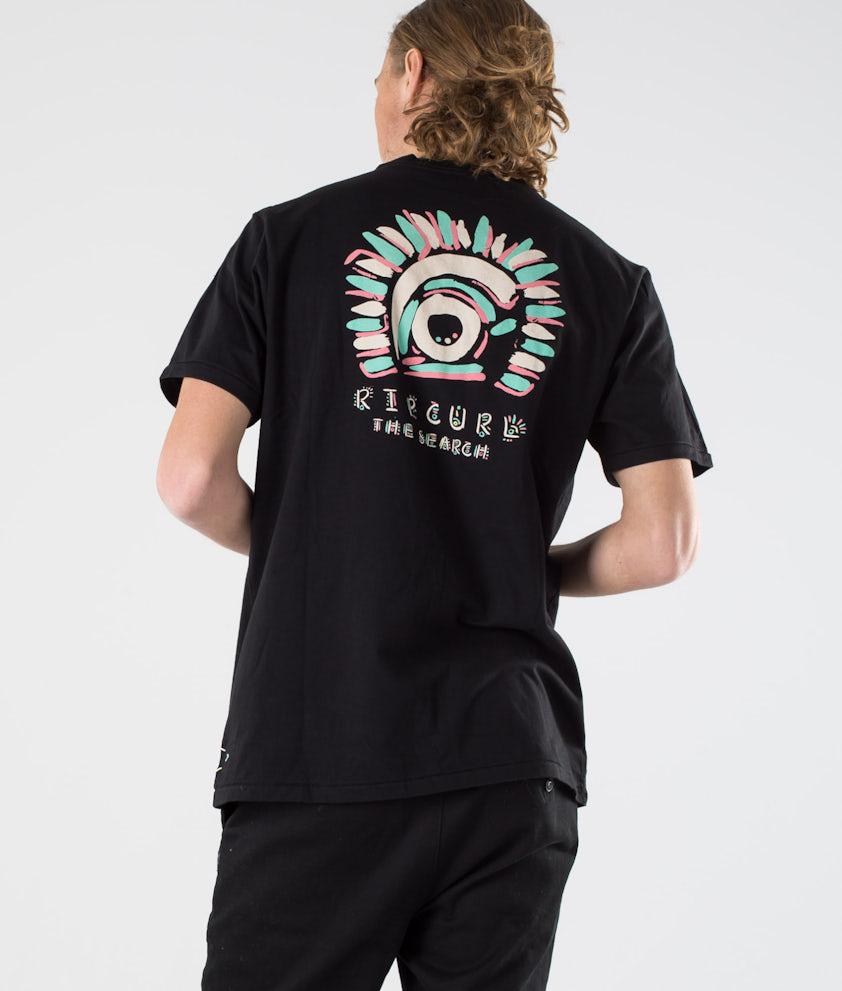 Rip Curl K-Fish Art Tee T-shirt Black