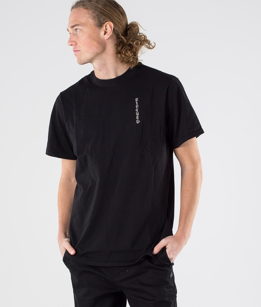 Rip Curl K-Fish Art Tee T-shirt Black