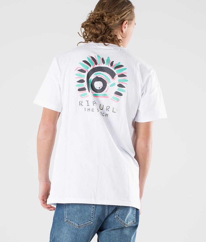 Rip Curl K-Fish Art Tee T-shirt White