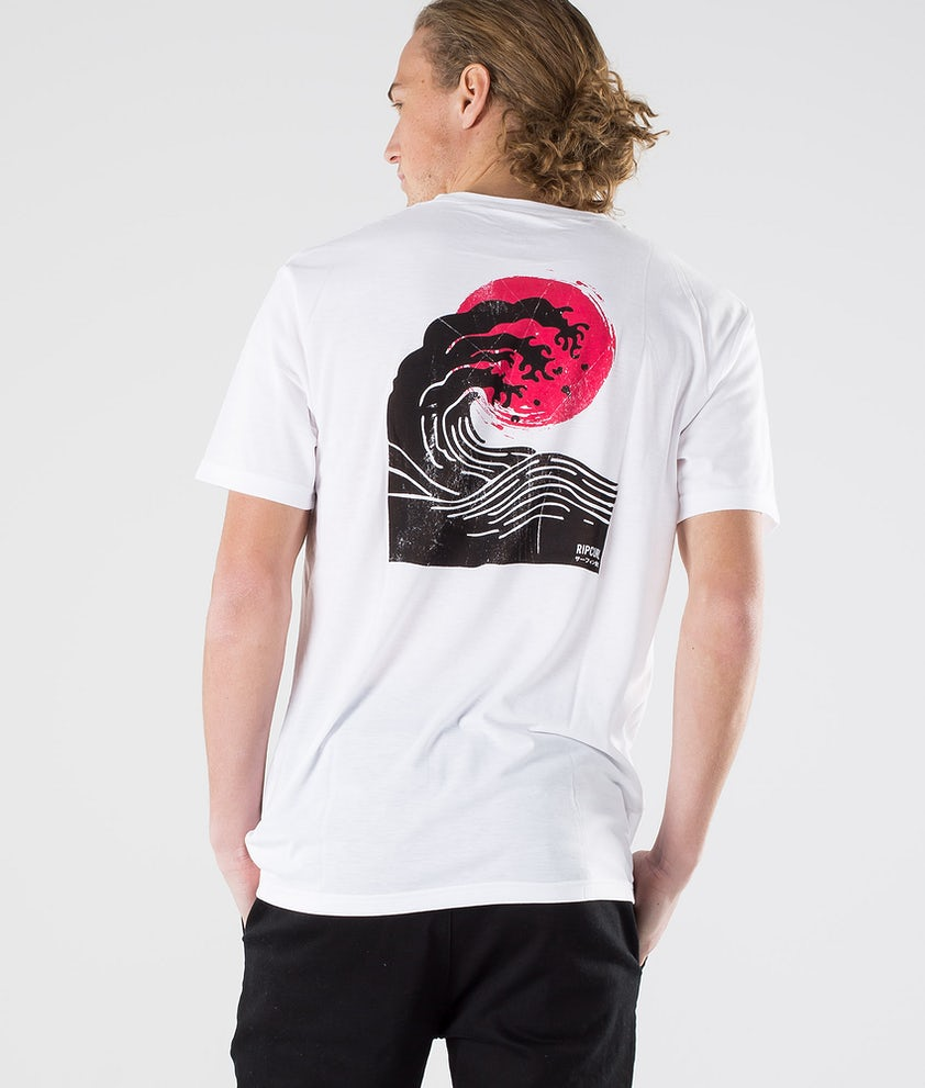 Rip Curl Ramen Vpc S/S Tee T-shirt Optical White