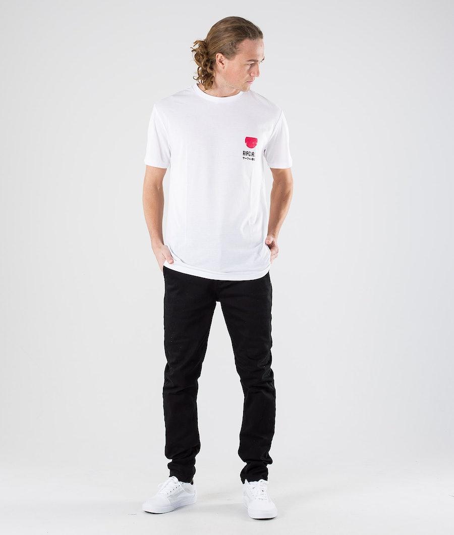 Rip Curl Ramen Vpc S/S Tee T-shirt Optical White