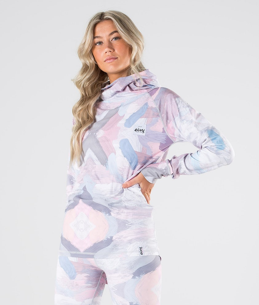 Eivy Icecold Hood Top Maglia Termica Faded Brush