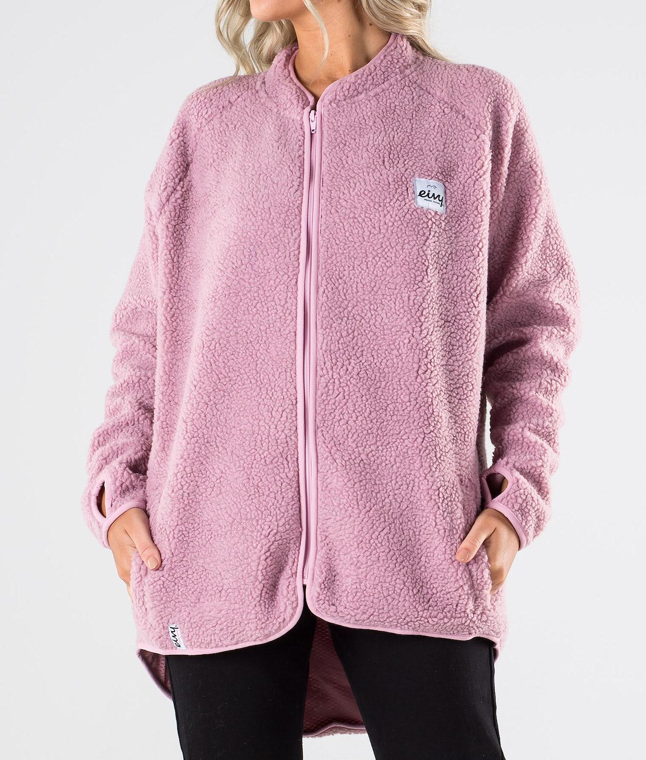 Eivy Redwood Sherpa Jacket Tröja Faded Pink