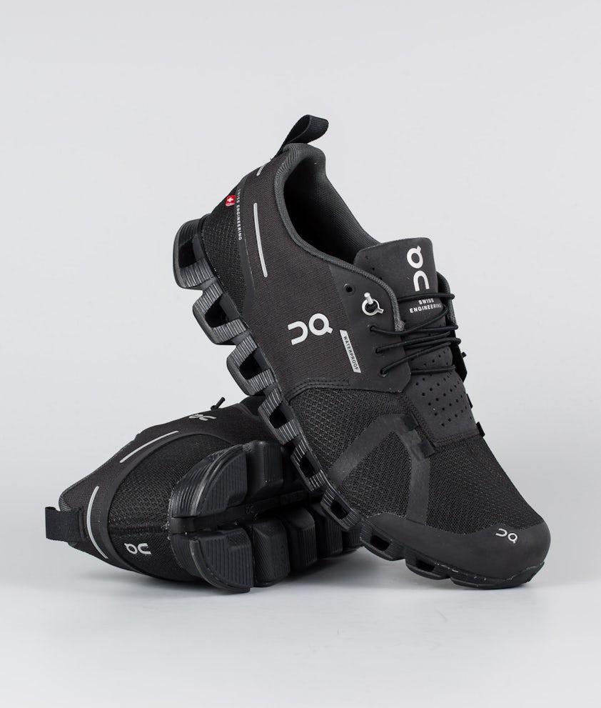 On Shoes Cloud Waterproof Skor Black/Lunar
