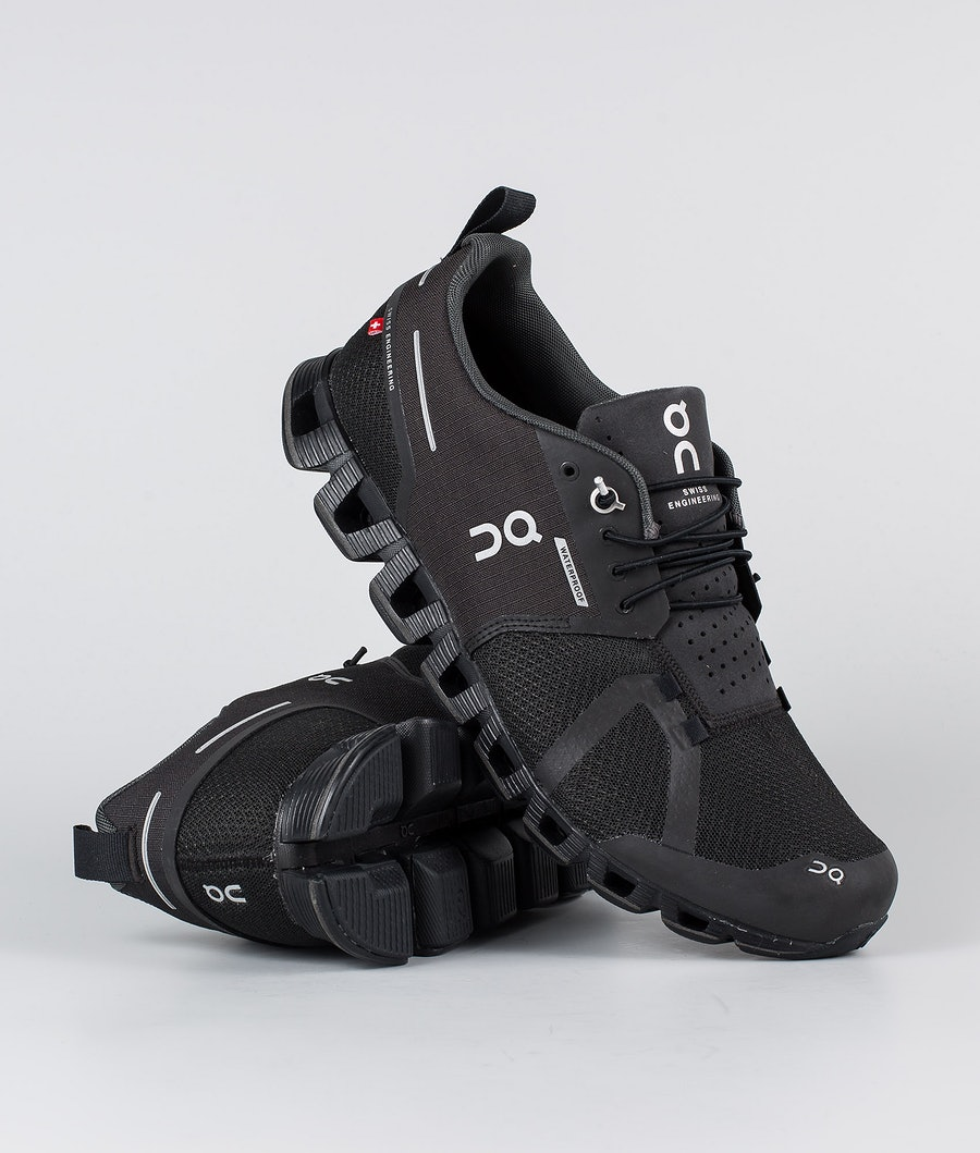 On Shoes Cloud Waterproof Schoenen Black/Lunar