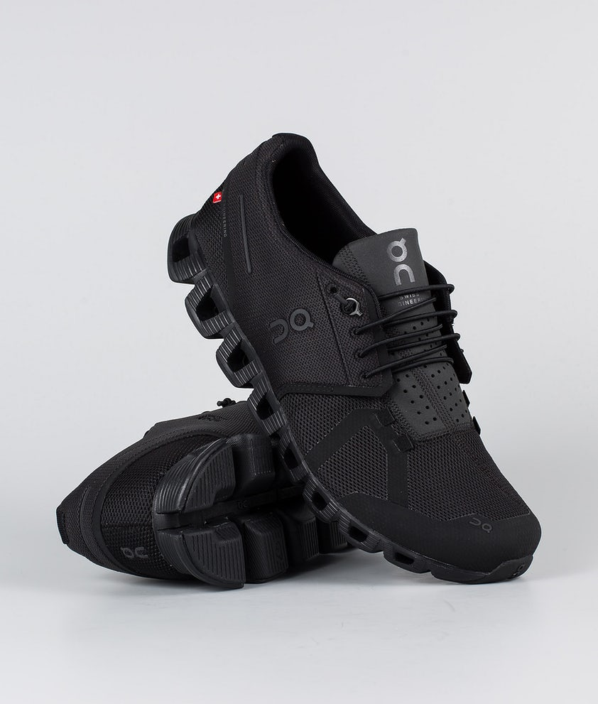 On Shoes Cloud Skor All Black