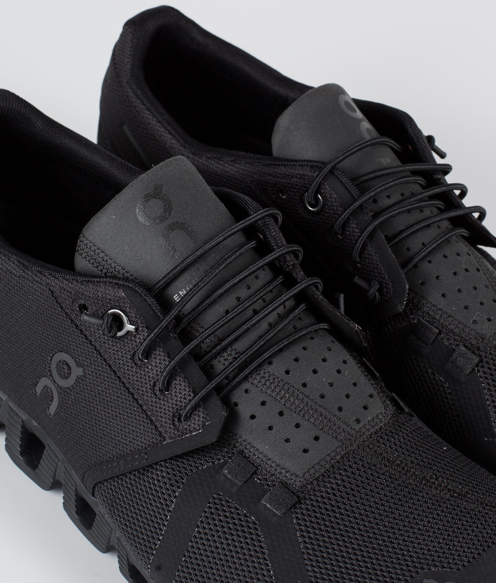 On Shoes W Cloud Sko All Black Ridestore.no