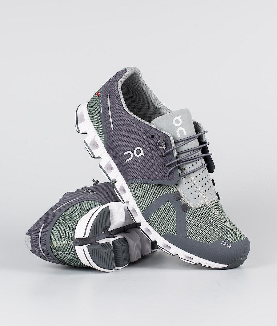 On Shoes Cloud  Skor Rock/Leaf