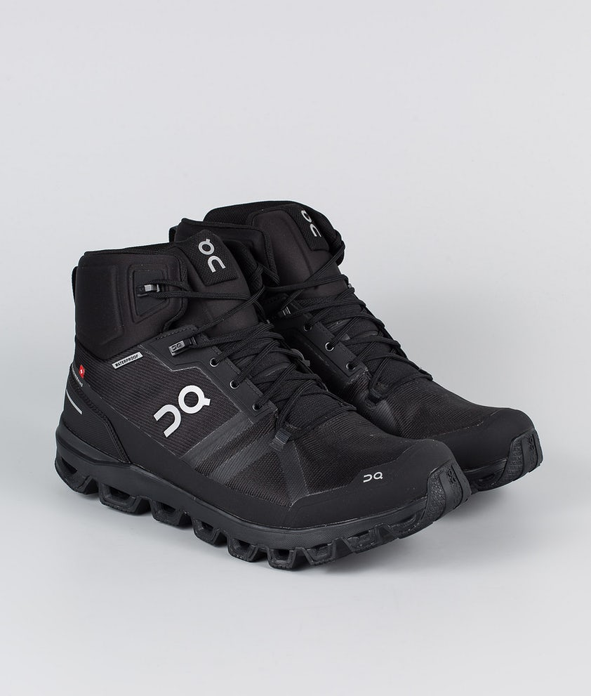 On Shoes Cloudrock Waterproof Scarpe All Black