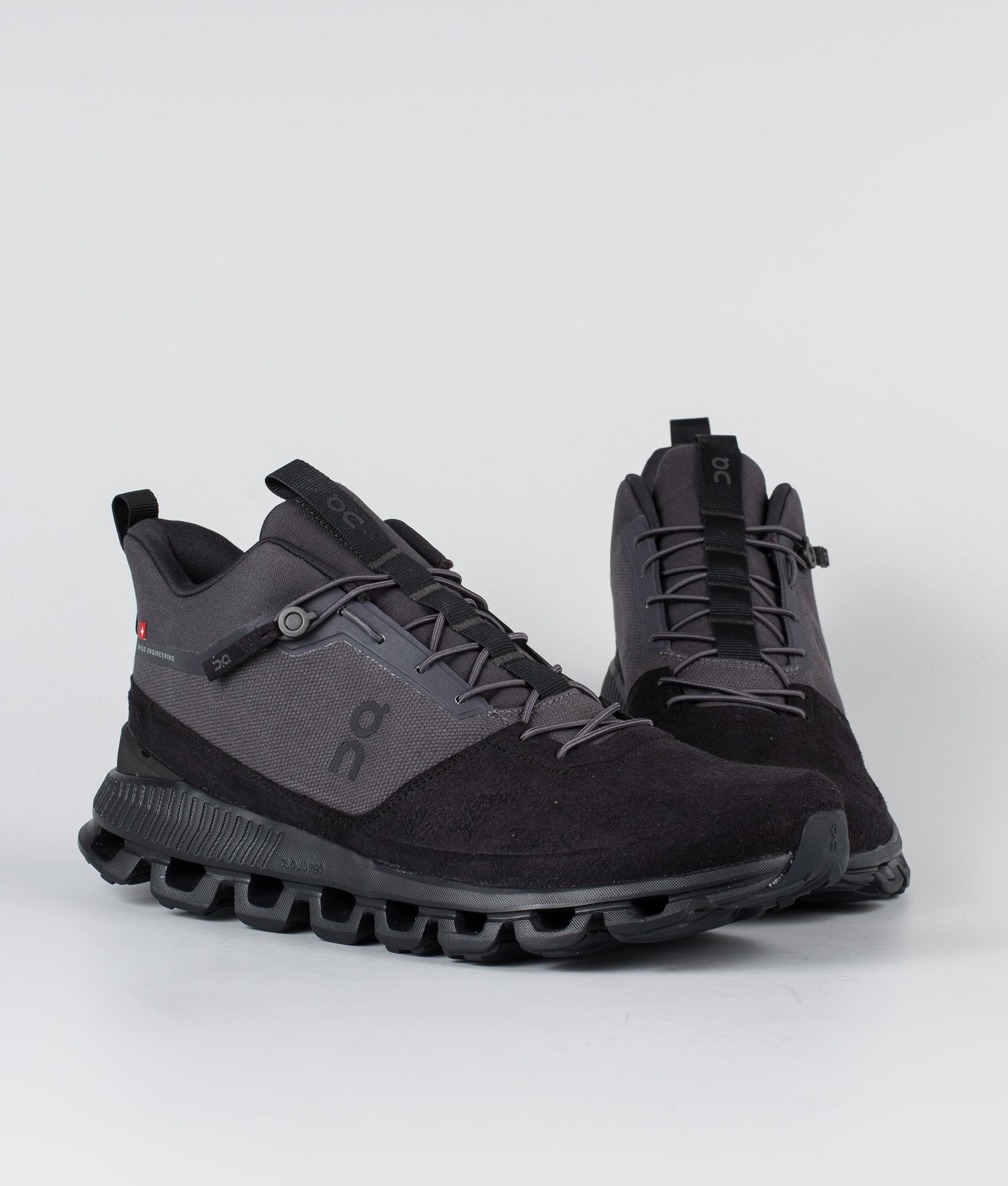 On Shoes Cloud Hi Shoes Eclipse/Black