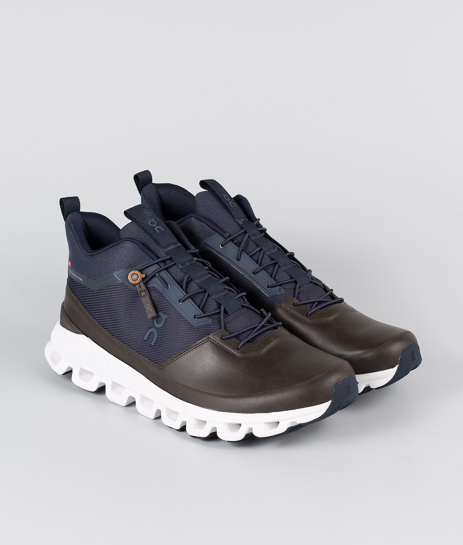 On Shoes Cloud Hi  Schuhe Ink/Brown