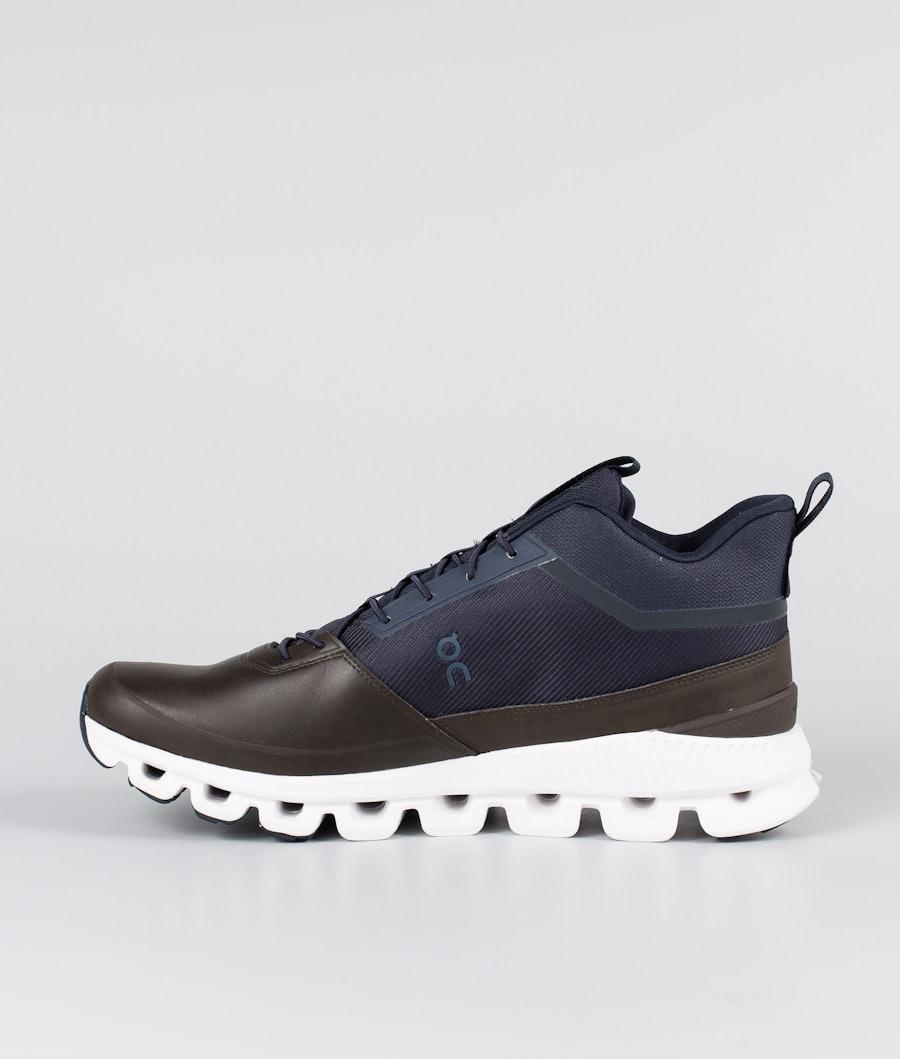 On Shoes Cloud Hi Shoes Ink/Brown