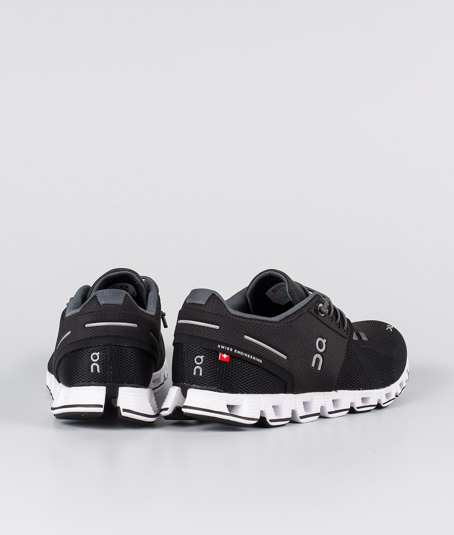 On Shoes W Cloud Chaussures Femme Black/White