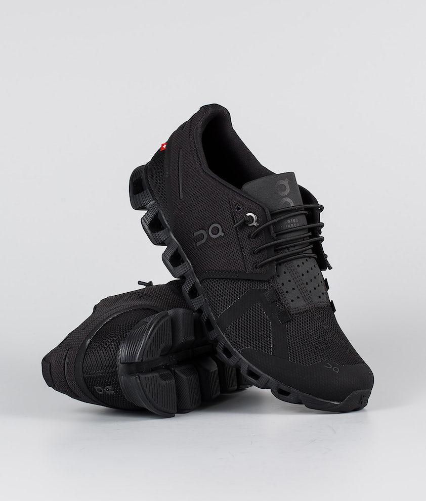 On Shoes W Cloud Sko All Black