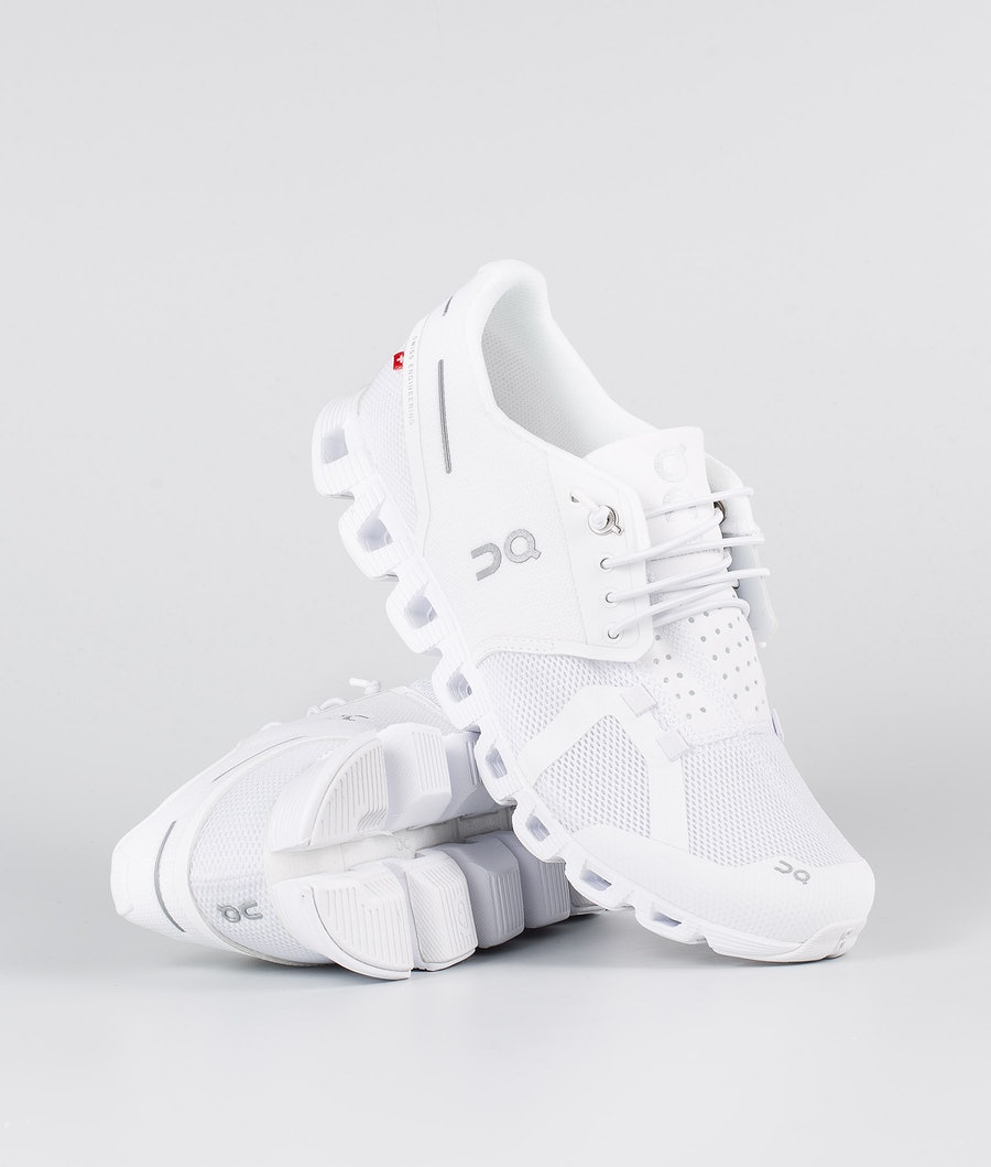 On Shoes W Cloud Sko All White