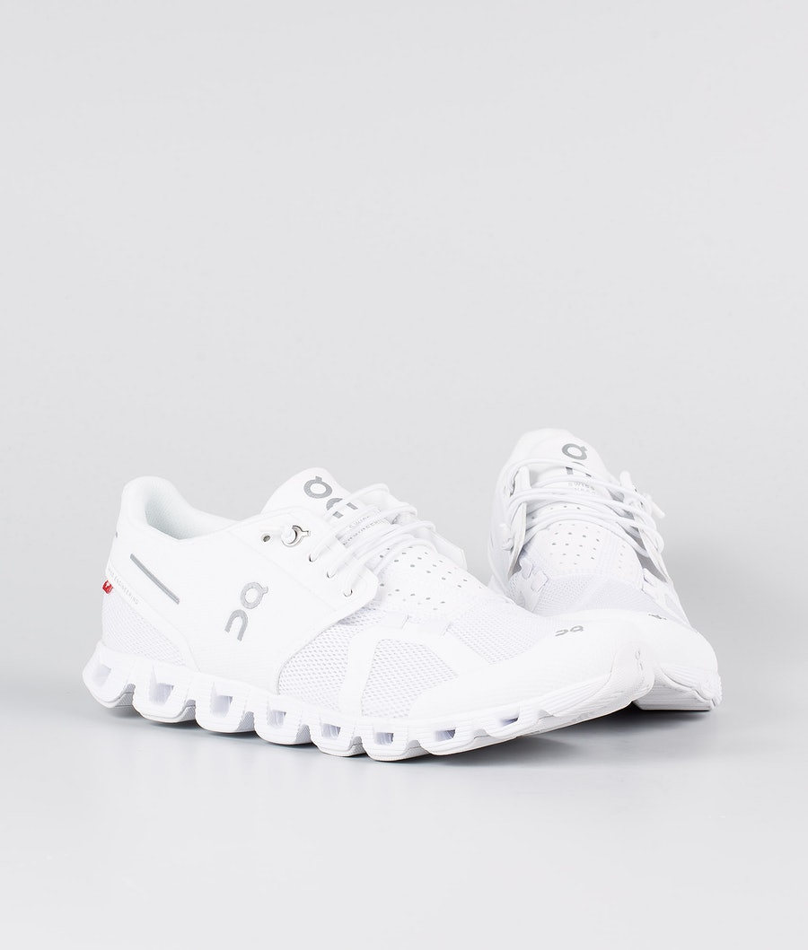 On Shoes W Cloud Chaussures Femme All White