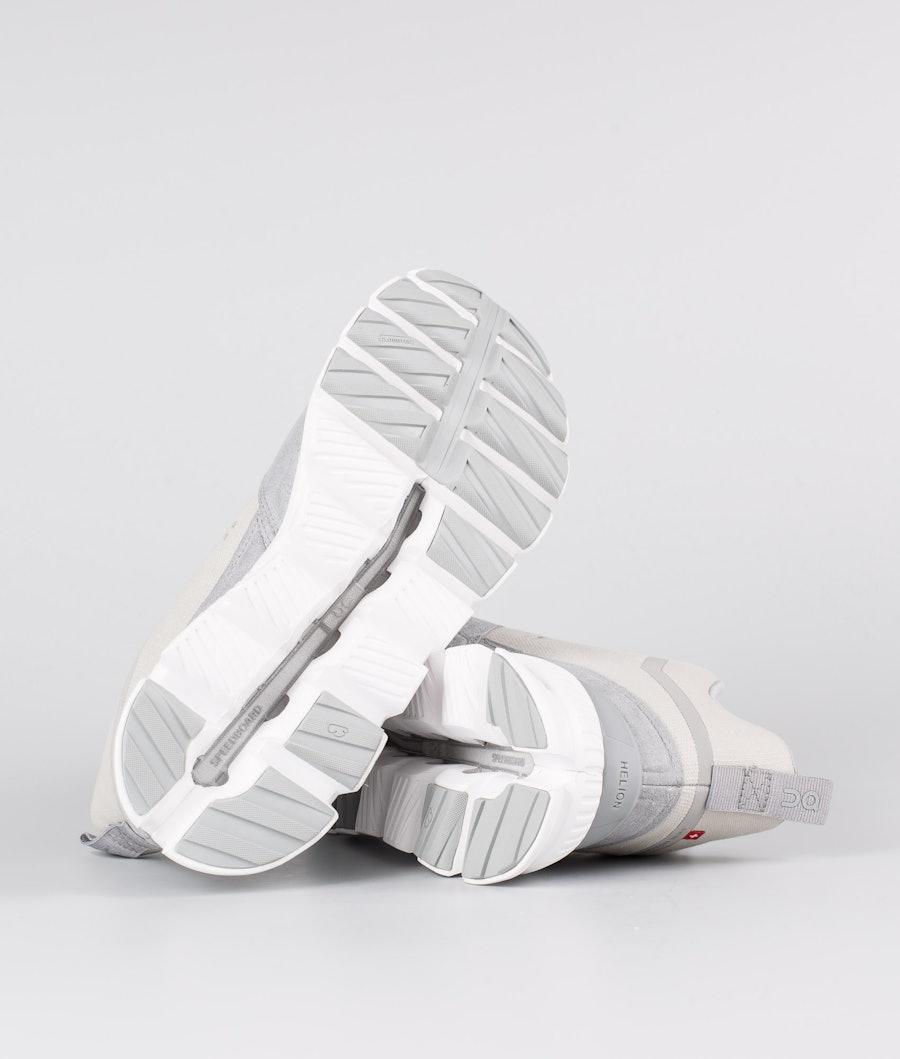 On Shoes W Cloud Hi Scarpe Donna Glacier/Grey