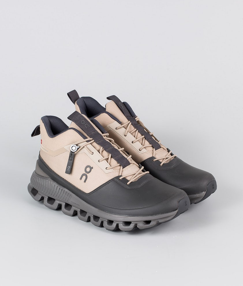 On Shoes W Cloud Hi Scarpe Sand/Eclipse