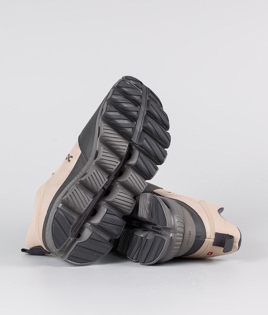 On Shoes W Cloud Hi Schuhe Damen Sand/Eclipse