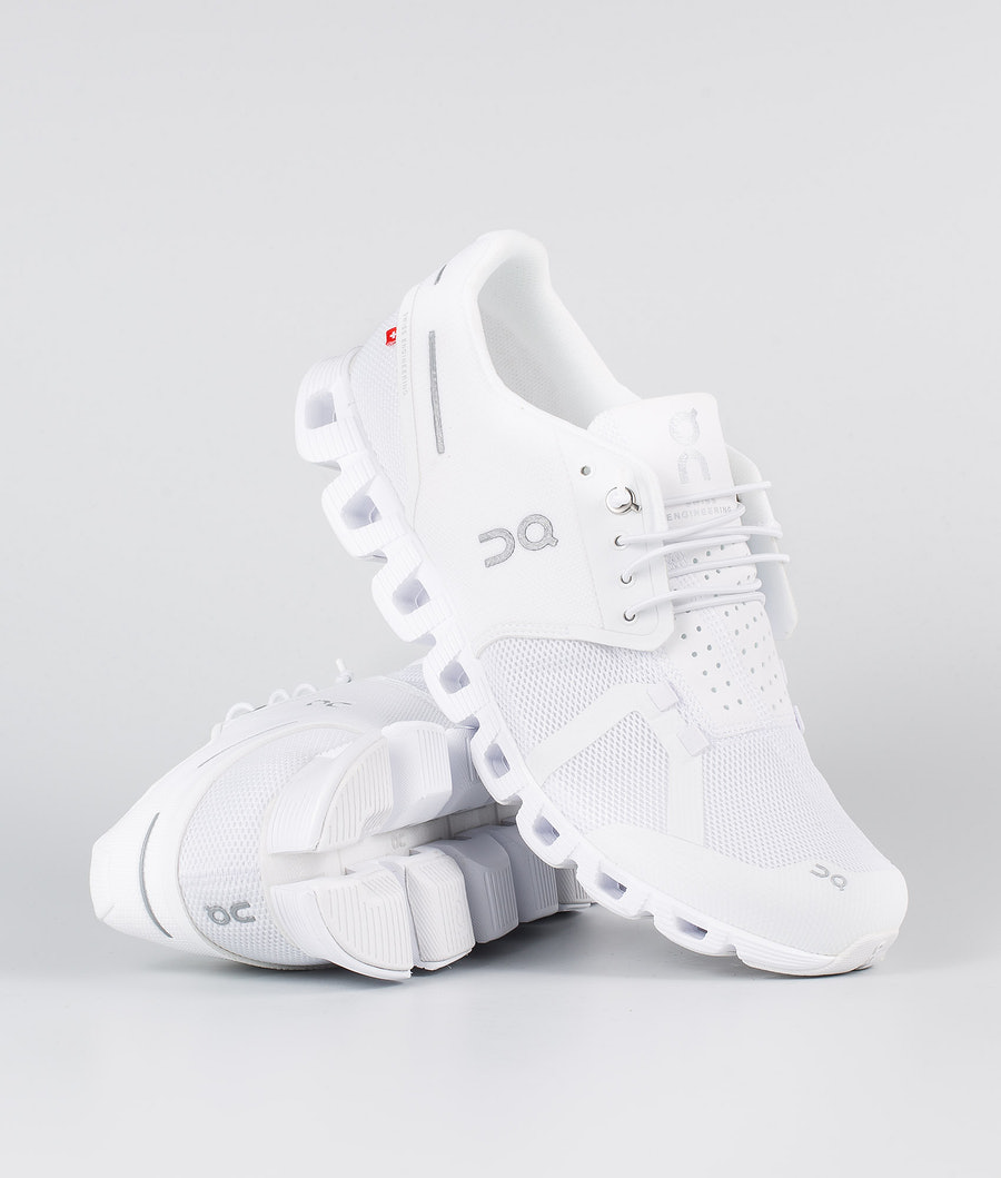 On Shoes Cloud  Schuhe All White