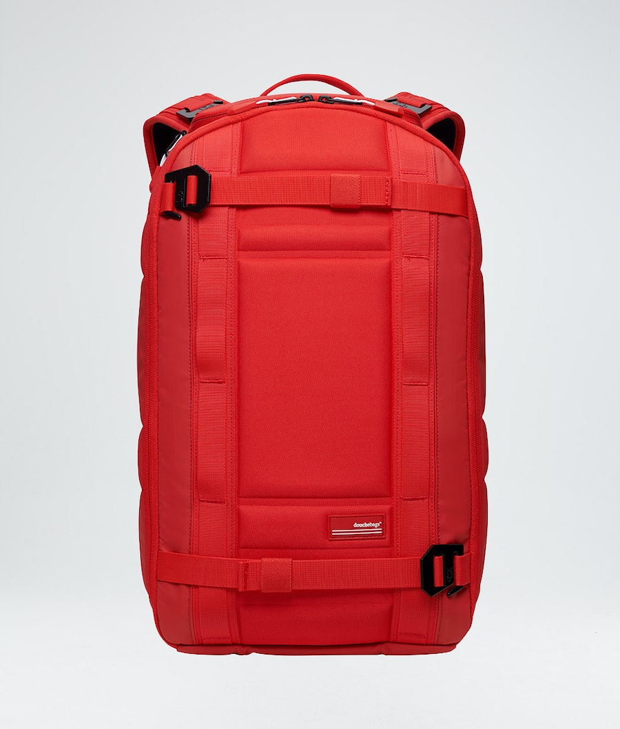 Douchebags The Backpack Väska Snow Scarlet Red