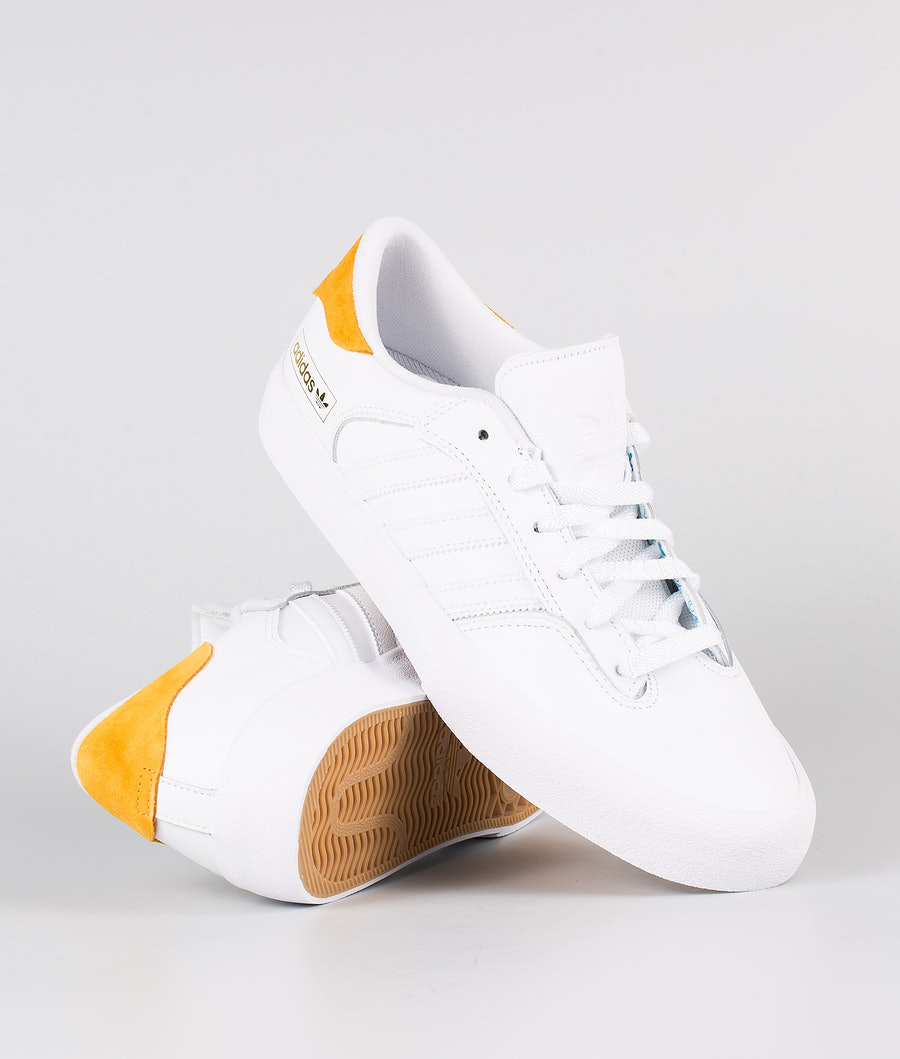 Adidas Skateboarding Matchbreak Super     Skor Footwear White/Technical Yellow/Footwear White