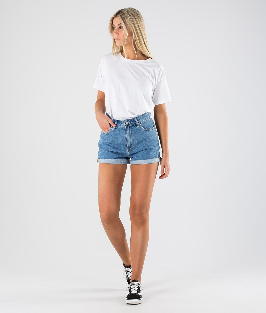 Dr Denim Jenn Shorts Women's Shorts Retro Sky Blue