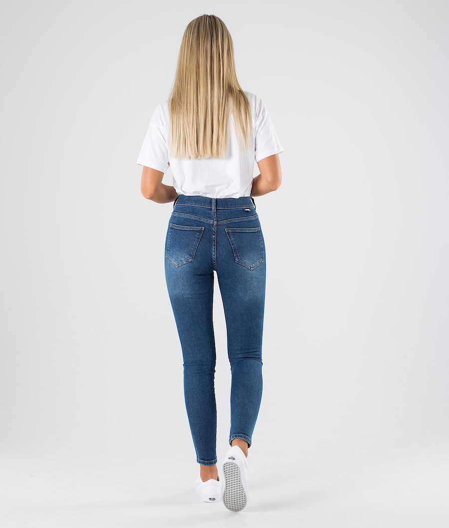 Dr Denim Lexy Hosen Damen Westcoast Dark Blue