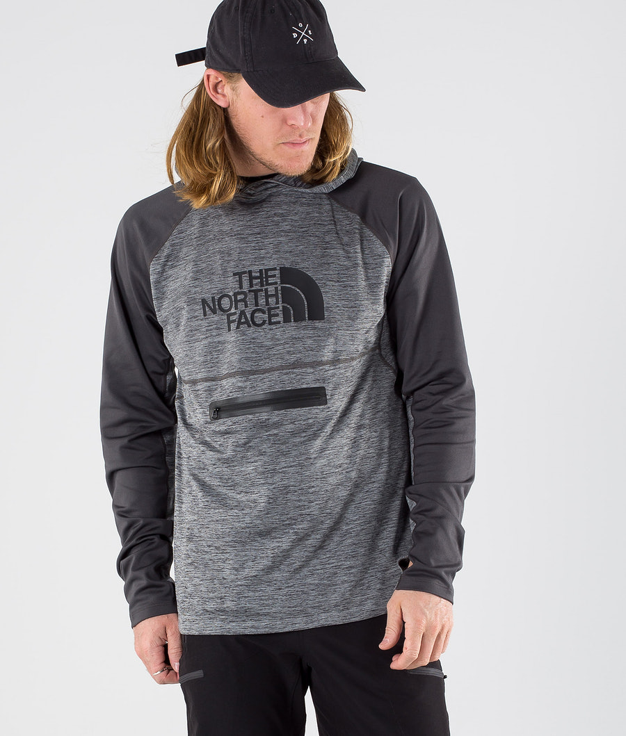 The North Face Varuna Pull-On  Huppari Mid Grey Heather/Asphalt Grey