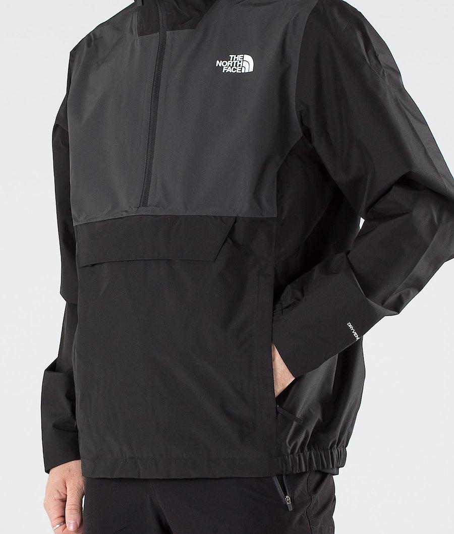 The North Face Waterproof Fanorak Regnjacka Tnf Black