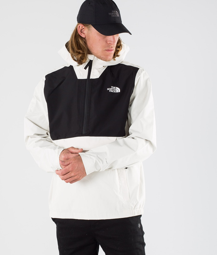 The North Face Waterproof Fanorak  Rain Jacket Vintage White