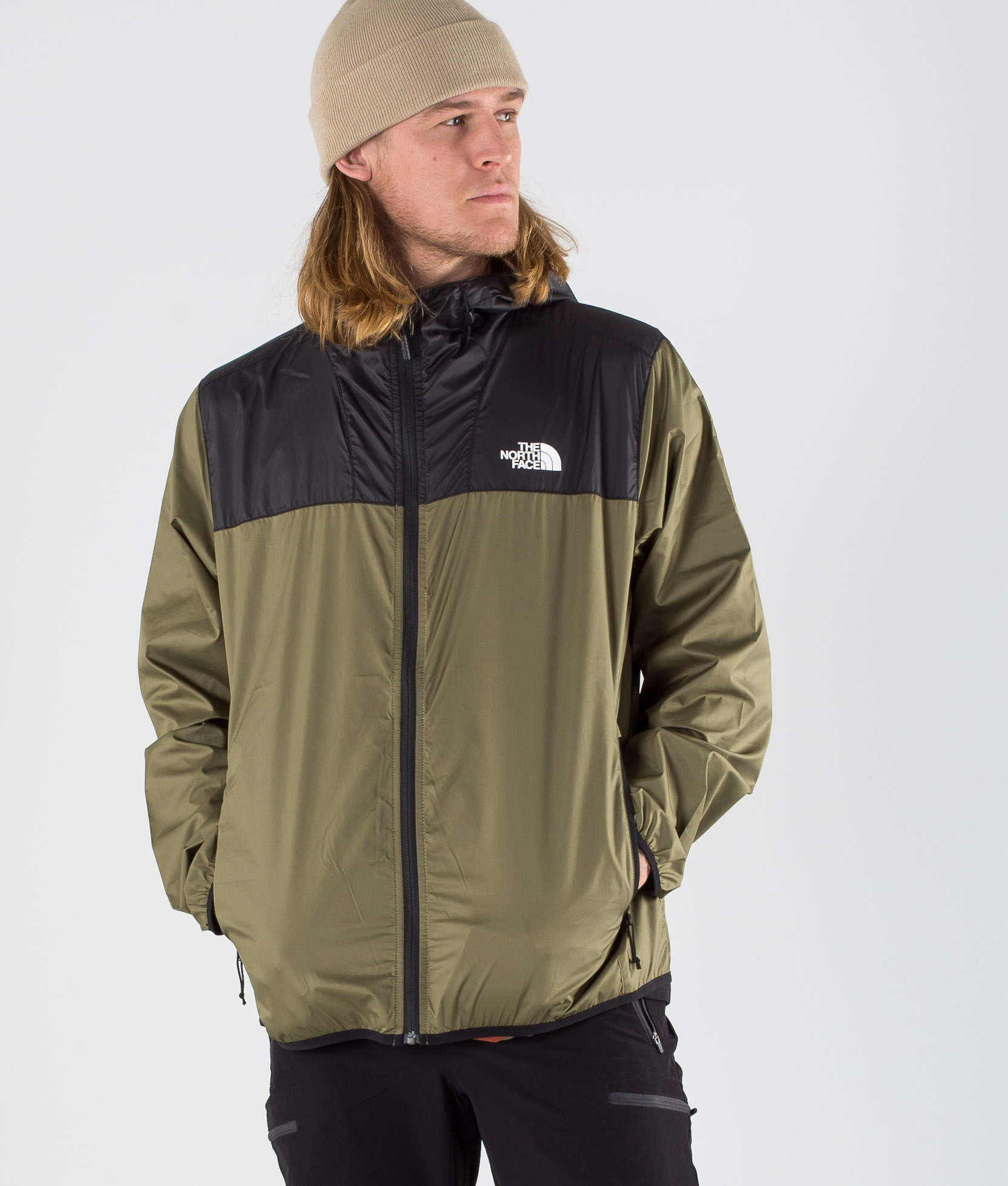 The North Face Cyclone 2 0 Outdoor Jacket Tnf Black Burnt Olive Green Ridestore Com