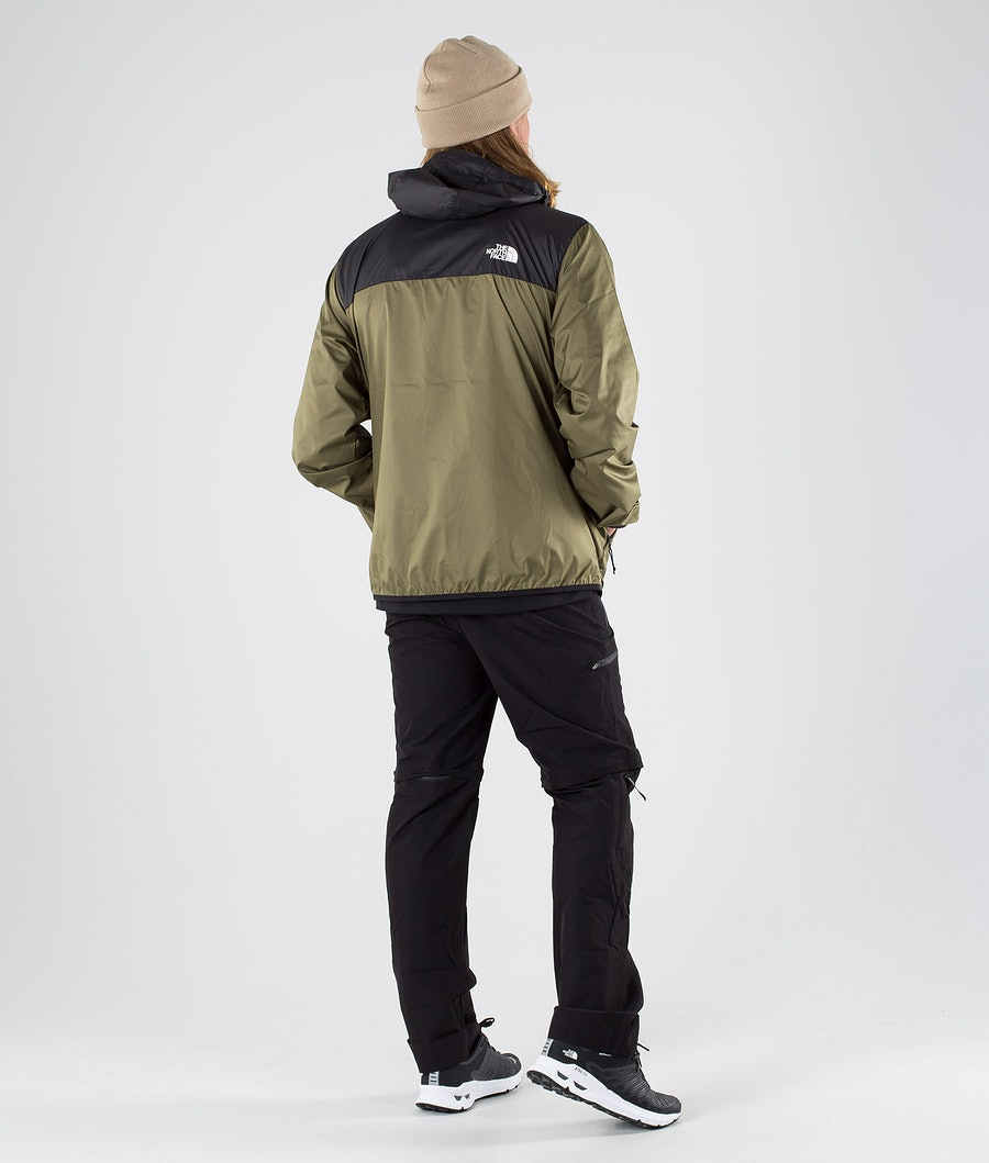 The North Face Cyclone 2.0 Jacka Tnf Black/Burnt Olive Green