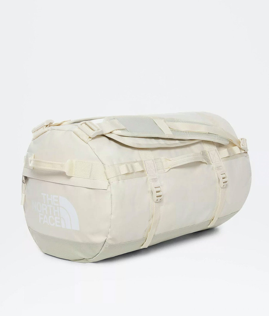 The North Face S - Base Camp Duffel Laukku Vintage White/Tnf White