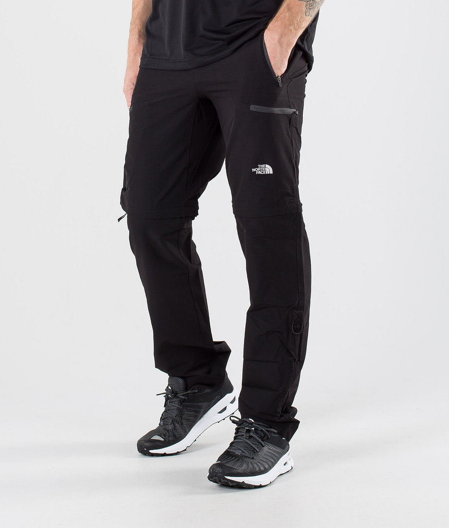 The North Face Exploration Convertible Pants Tnf Black