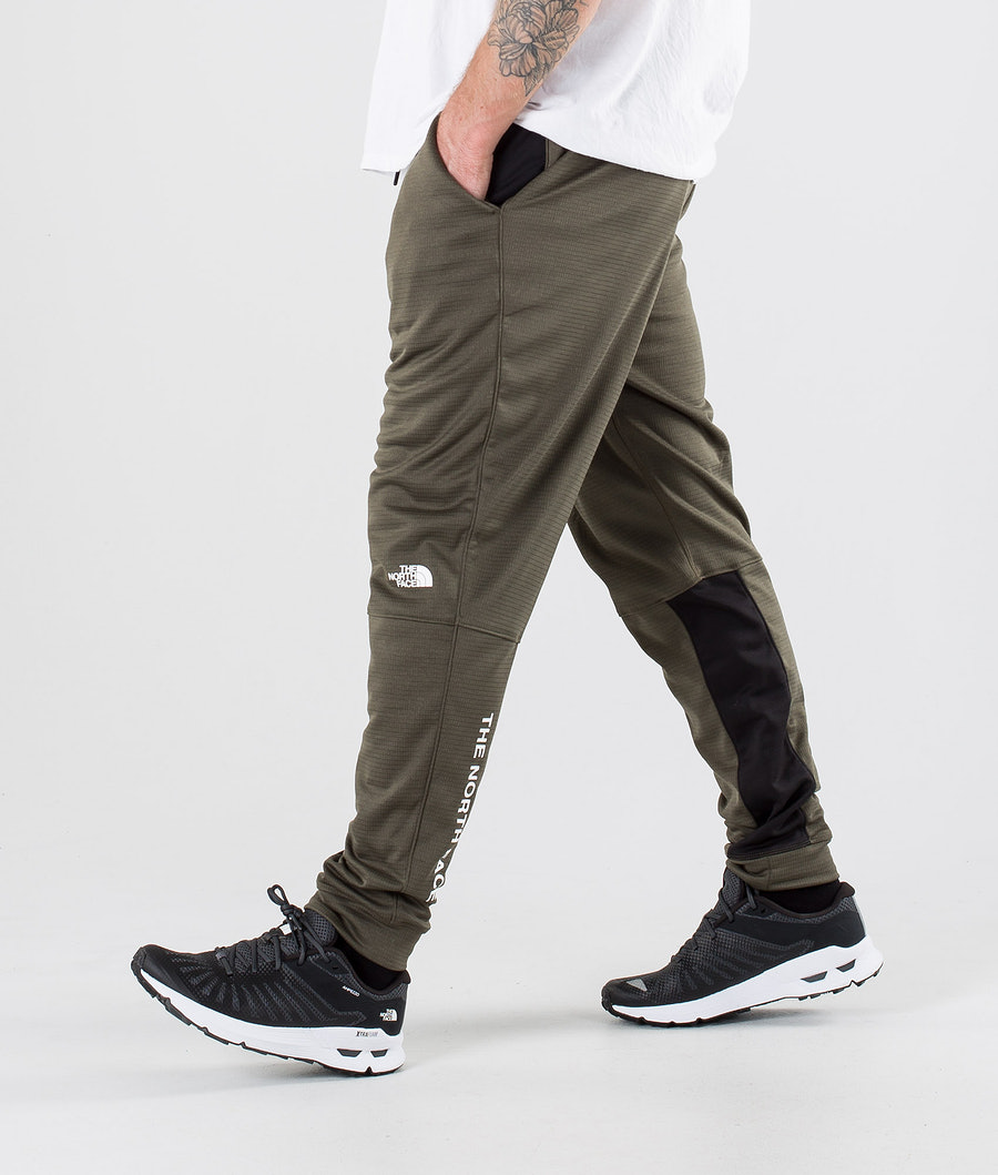 The North Face Train N Logo Hosen New Taupe Green/Tnf Black