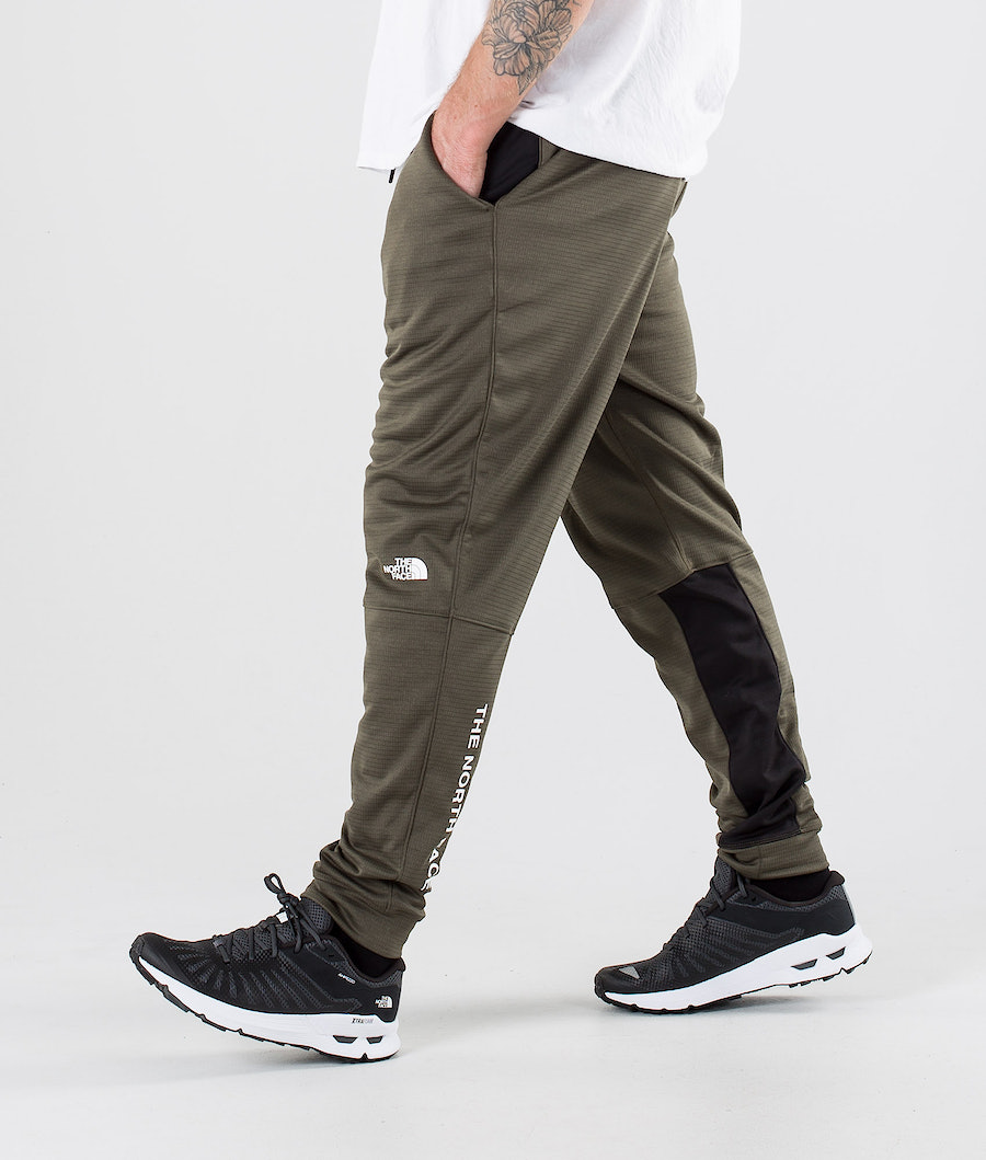 The North Face Train N Logo Pants New Taupe Green/Tnf Black