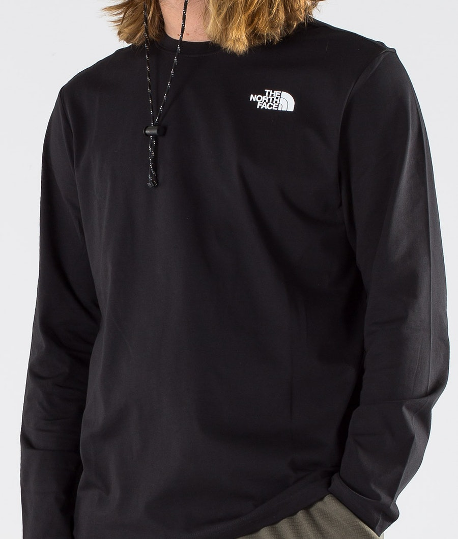 The North Face Red Box Longsleeve Tnf Black