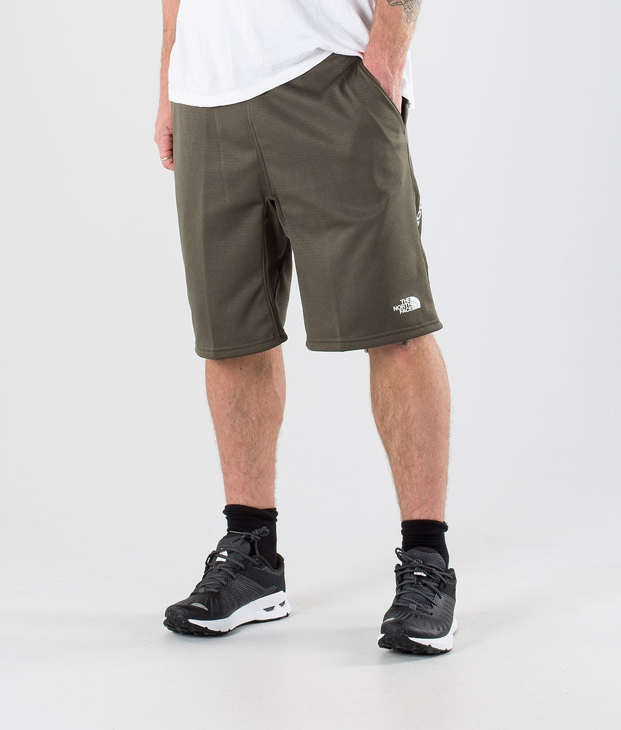 The North Face Train N Logo Shorts New Taupe Green