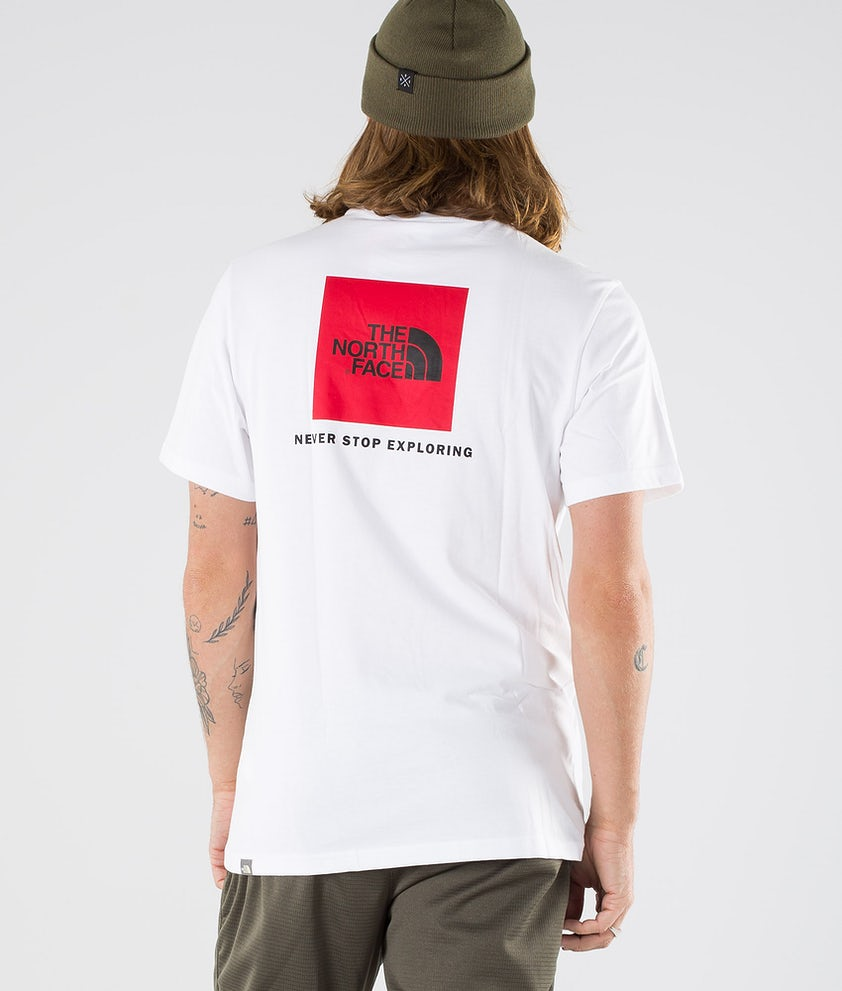 The North Face Redbox T-shirt Tnf White