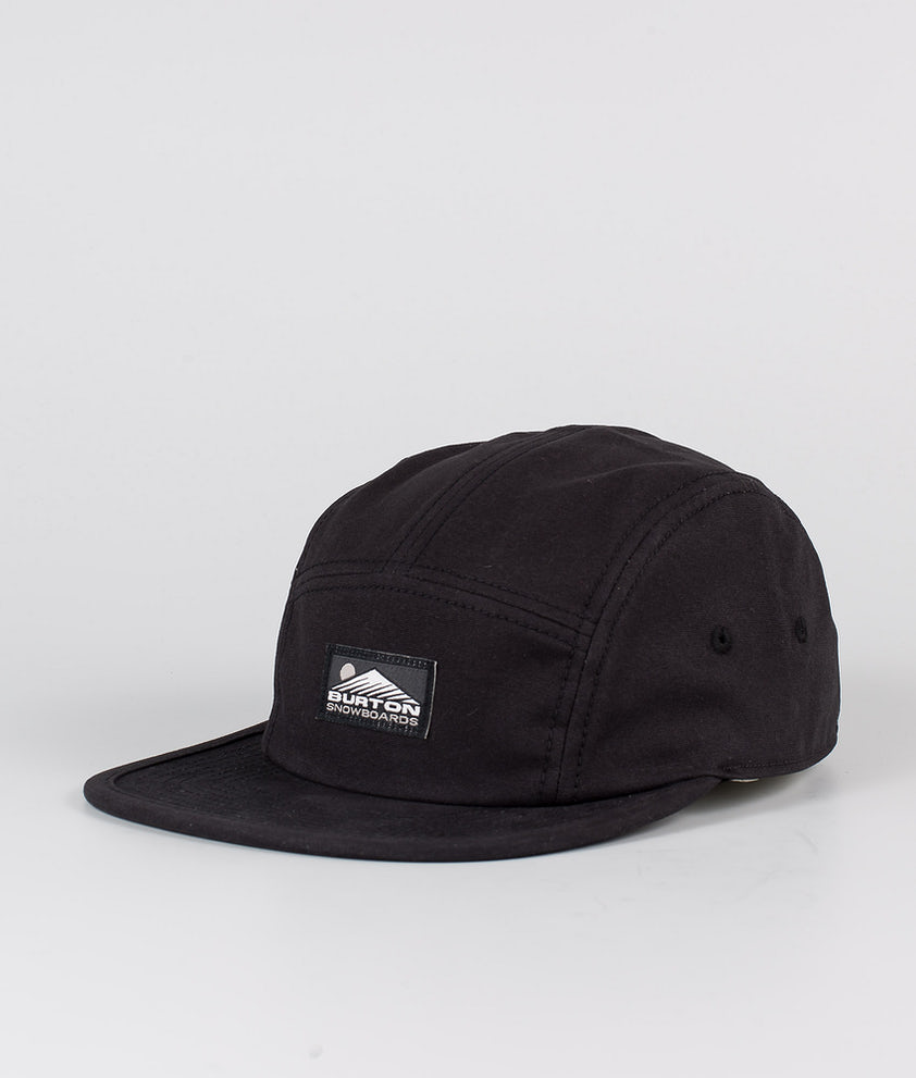 Burton Cordova 5 Panel Caps True Black