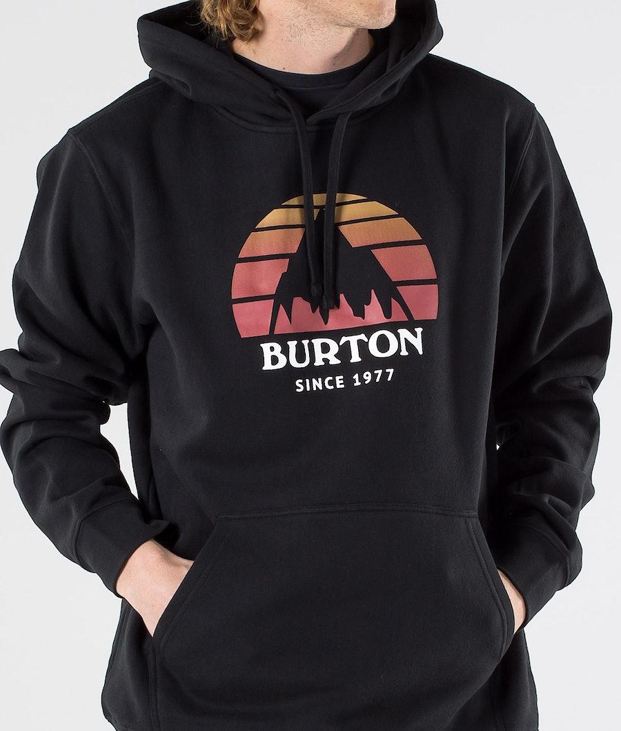 Burton Underhill Hood True Black