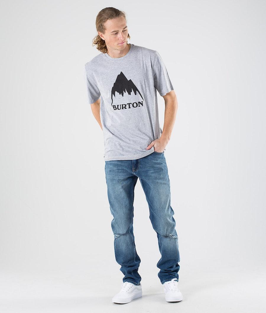 Burton Classic Mountain High T-shirt Gray Heather