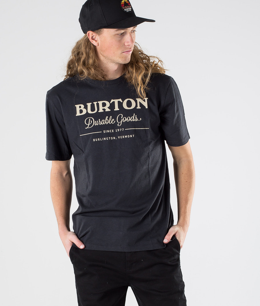 Burton Durable Goods T-shirt True Black
