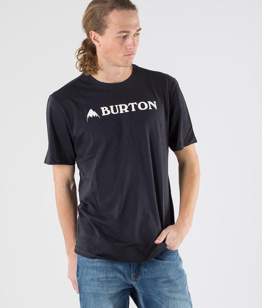 Burton Horizontal Mountain T-paita True Black